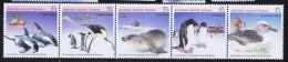 1988  AAT  Antarctic Birds And Mammals  Strip Of 5   Sc L76  MNH - Unused Stamps