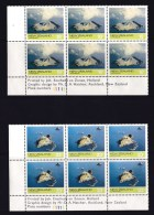 New Zealand 1974 Offshore Islands Set Of 4 As Blocks Of 6 Mint No Gum - See 2nd Scan - New Zealand