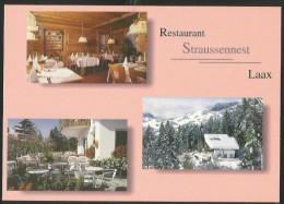 LAAX SALUMS Flims Restaurant STRAUSSENNEST - GR Graubünden