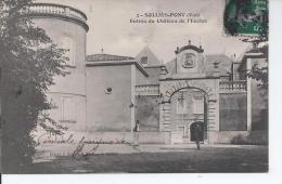 Solllies Pont Entree Du Chateau De L Enclos - Sollies Pont