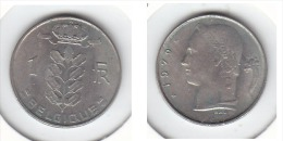1 Franc Baudouin I 1970 FR - 1951-1993: Baldovino I