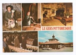 CP, 32, LE GERS PITTORESQUE, Multivues, Ecrite En 1981 - Non Classés