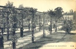 CPA PARIS - LA ROSERAIE DE BAGATELLE - Parcs, Jardins