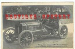 CARTE PHOTO < COUPE GORDON BENNETT 1905 < Pilote THERY Sur Voiture RICHARD BRASIER - COURSE AUTOMOBILE - Rallyes