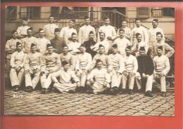 Groupe De Soldats  Carte Photo - Guerre 1914-18