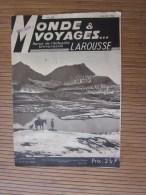 1938 Revue Actualité Universelle Monde Et Voyages Larousse:chasse Nord Canadien-Catalogne Nankin-Hang Chéou- Indochine - World