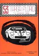 X 53 TARGA FLORIO 1969  AFFRANCATA BOLLI TARGHETTA MANIFESTAZIONE TELESTAR NON VIAGGIATA  NUOVA - Motorsport