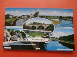 29940 PC:  SCOTLAND: BERWICKSHIRE: Coldstream. (Postmark 1963). - Berwickshire