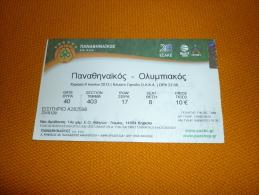 Panathinaikos-Olympiakos Greek Championship Final Basketball Ticket 9/6/2013 - Tickets D'entrée