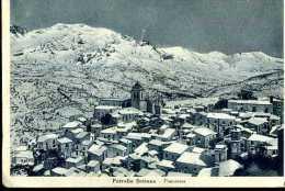 PETRALIA SOTTANA PANORAMA   VIAGGIATA  1940 B/N ED. MACALUSO - Altre Città