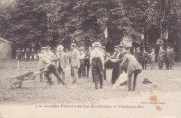 BORDEAUX,  Amerikan-Park, Lcoronation Festivities, Courses, Circulee, Un Peu Tachee - Bordeaux