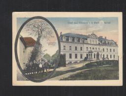AK Gruß Aus Ribbeck I.d. Mark Schloss Historischer Birnbaum 1916 - Nauen