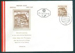 ÖSTERREICH - FDC Mi-Nr. 1115 Bauwerke Stempel LINZ - FDC