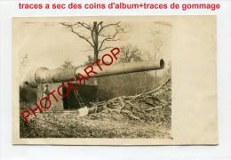 Faux CANONS-Attrape-Non Situee-Carte Photo Allemande-Guerre14-18-1WK -Militaria-Technique-Waff En- - Oorlog 1914-18