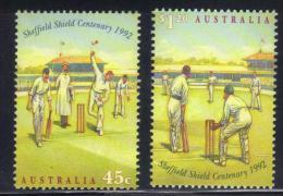 SS2745 - AUSTRALIA 1993 , La Serie 1282/1283  ***  MNH - Cricket