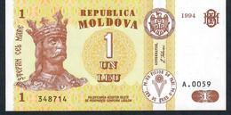 MOLDOVA  P8a   1  LEU    1994   UNC. - Moldova