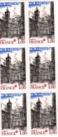 1978-  Troyes  - Planche De 6 Timbres N° 2011 - France