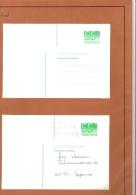 NEDERLAND  ADRESWIJZIGING 55 CT. CROUWEL  ONGEBRUIKT +   GEBRUIKT - Postal Stationery