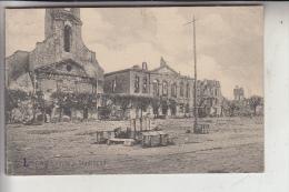 F 54400 LONGWY, Zerstörungen 1.Weltkrieg, Kirche Und Stadthaus, 1915, Deutsche Feldpost - Longwy