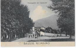 LAZIO-LATINA - SEZZE ROMANO  PASSEGGIATA DEI CAPPUCCINI - Italie