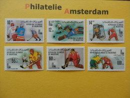 Mauritania 1979, OLYMPICS OLYMPIADE OLYMPIQUES / LAKE PLACID: Mi 660-65, ** - Winter 1980: Lake Placid