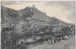 LAZIO-FROSINONE- CASSINO PANORAMA CON LAVANDAIE AL FIUME - Italie
