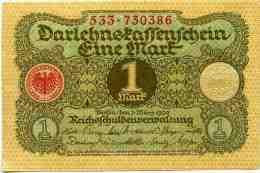 Allemagne Germany 1 Mark 1 Marz 1920 UNC P58 - [ 3] 1918-1933 : Weimar Republic