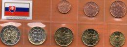 Neu €-Einführung Slowakei 2009 Prägeanstalt Bratislava Stg 16€ Stempelglanz Staatlichen Münze New Set Coins Of Slovensko - Slowakei