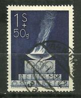 """Autriche Oblitéré ; Y & T ;  696  ; """" Jeux Olympiques De Londres """" - 1945-60 Oblitérés"""