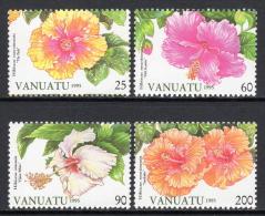 VANUATU. 1996 FLOWERS - HIBISCUS #2 SET MNH. - Vanuatu (1980-...)