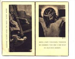 Doodsprentje Angele BARBARY Wed. Theofiel Bailleul Echtg. Remi Wackenier Uxem (France) 1882 Wulveringen 1954 - Devotion Images