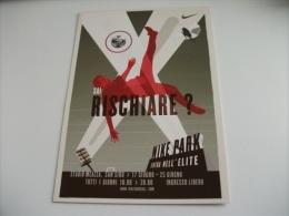 Stadio Stadium   Estadio  Meazza San Siro  Milano Sai Rischiare ? Nike Park Citrus Promotion N° 480 - Advertising