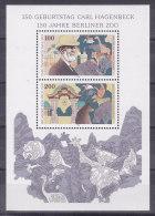 Germany - 1994 - Bloc 28 - Carl Hagenbeck- Berliner Zoo - MNH (11551) - [7] Repubblica Federale