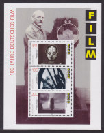 Germany - 1995 - Bloc  33 - 100 Years German Film - MNH (11554) - [7] Repubblica Federale
