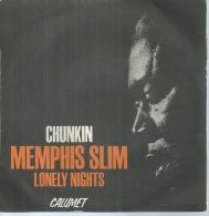"""45 Tours SP -   MEMPHIS SLIM  - CALUMET 1501  """" CHUNKIN """" + 1 - Vinyl-Schallplatten"""