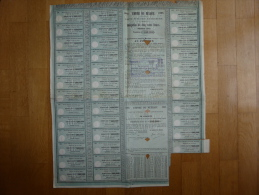 EMPIRE DU MEXIQUE 500 FR 1865 - Banco & Caja De Ahorros