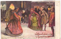 ACP - CPA - LE VIEUX LIEGE - EXPOSITION DE 1905 - Carte De Voeux - Vierge - Carte Postale Officielle En Couleur - Cartes