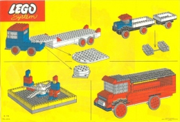 LEGO SYSTEM - PLAN NOTICE (B-118 Pad. Pend.) - Plans