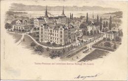 8837 - Töchter Pensionat Und Lehrerinnen Seminar Baldegg + Cachet Linéaire Baldegg - LU Lucerne