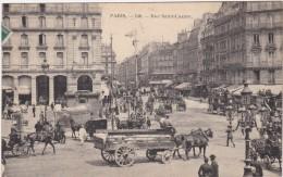 75- PARIS 8 -RUE SAINT LAZARE ( Devant L'hotel Terminus ) - Distretto: 08