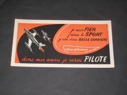 Feuillet Recrutement Force Aérienne - ... Donc Moi Aussi Je Serai PILOTE. - Books, Magazines  & Catalogs