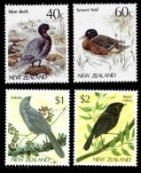 (063+64 T) New Zealand / Nouv. Zelande  Animals / Birds / Oiseaux / Vögel / Vogels  ** / Mnh  Michel 931-32 + 984-85 - Non Classificati