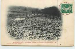 MONTSAUCHE  - Le Flottage Des Bois Sur La Cure à Palmaroux N°1 - Montsauche Les Settons