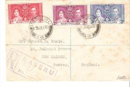 Carta De Basutoland De 1937 - Sin Clasificación