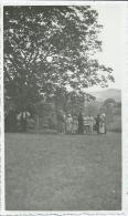 311jp   04 Chanolles Photo De La Fete De La St Jean Du Village En 1935 Petanque Jeu De Boule Ou Apperitif? - Places
