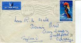 (300) Cover Posted From Tanganyika To UK In 1962 - Tanganyika (...-1932)
