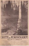 Grotte De Remouchamps  Vallée De L'Amblève (uit Plakboek) - Amblève - Amel