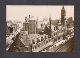NEW YORK CITY - JEFFERSON MARKET  COURT HOUSE - DENTENTION HOUSE1926 - PHOTO POSTCARDS REP. - SELECTED BY HAYWARD CIRKER - New York City