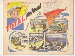 @ BD OFFERT PAR ESSENCE TOTAL JOURNAL N°23 SEPT 1961 STATION SERVICE PLACE DE L´EGLISE MEZIERES CHARLEVILLE ARDENNES - Livres, BD, Revues