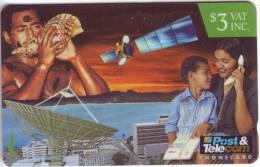RARE***Télécarte Prépayée Fidji $3  Utilisée **TB  A Saisir *** N° Lot :13FIB 110369 - Fidji